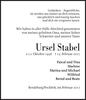 Ursel Stabel