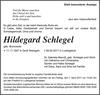 Hildegard Schlegel