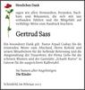 Gertrud Sass