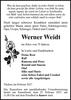 Werner Weidt
