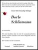 Dorle Schliemann
