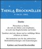 THEKLA BROCKMÜLLER