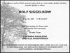 ROLF SIGGELKOW