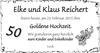 Elke und Klaus Reichert