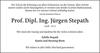 Prof. Dipl. Ing. Jürgen Stepath