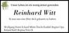 Reinhard Witt