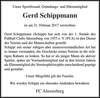 Gerd Schippmann