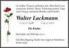 Walter Lackmann
