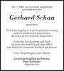 Gerhard Schau