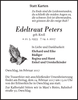Edeltraut Peters