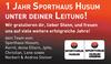 J Sporthau S hu Sum Leitung