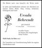Ursula Behrendt
