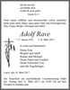 Adolf Rave