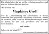 Magdalene Groß