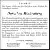 Dorothea Minkenberg