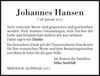 Johannes Hansen