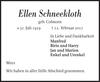 Ellen Schneekloth