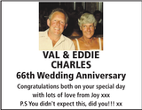 Anniversary notice for VAL