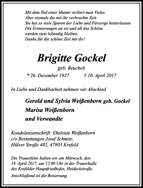 Brigitte Gockel