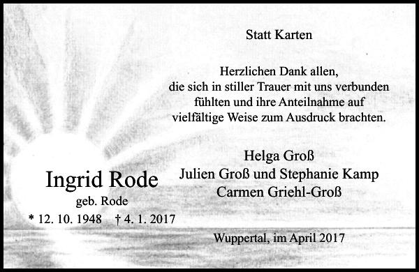 Ingrid Rode