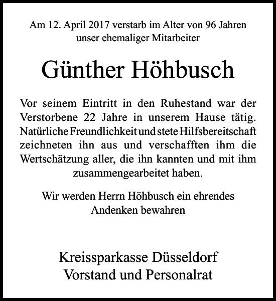 Günther Höhbusch