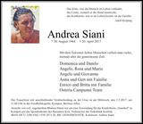 Anzeige für Andrea Siani
