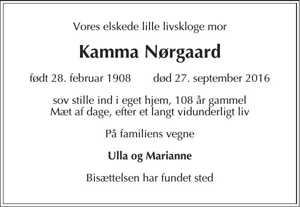 Kamma Nørgaard
