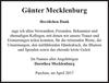Günter Mecklenburg