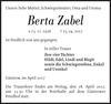 Berta Zabel