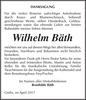 Wilhelm Bäth