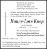 Hanne-Lore Knop