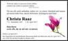 Christa Raaz