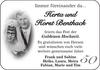 Herta und Horst Benthack